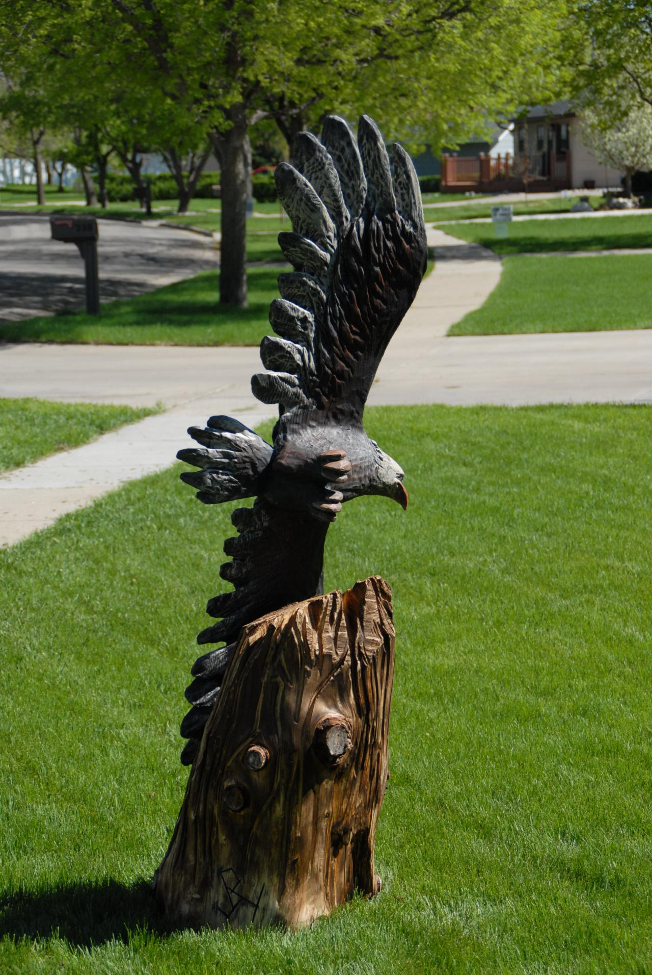 Carving post forum newest eagle